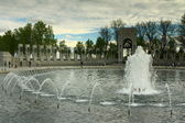 WW II Fountain — Stock Photo