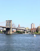 Brooklyn bridge NYC — Stock Photo