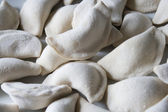 Dough, dumplings — Stock Photo