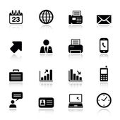 Basic - Office and Business icons — Stock Vector