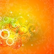 Abstract orange background - Imagen vectorial