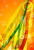 Vector kleur lijnen. abstract vector achtergrond — Stockvector