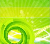 渦巻き模様のベクトルの背景 — ストックベクタ