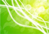 Green lines — Stock Vector