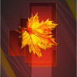 Royalty-Free Stock Vector Image: Abstract vector autumn background