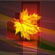 Royalty-Free Stock Imagem Vetorial: Abstract vector autumn background