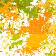 Royalty-Free Stock Векторное изображение: Vector autumn leaves abstract background