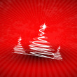 Christmas vector abstract background — Stock Vector #6022537