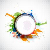Tasarlamak vektör renkli şekiller arka plan — Stok Vektör