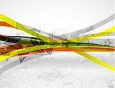 Абстрактный фон линий — Cтоковый вектор