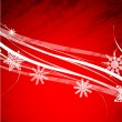 Christmas vector abstract background — Stock Vector #6074574