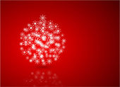 Weihnachten-vektor-abstrakt — Stockvektor