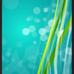 Vector absract green background — Stock Vector