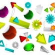 Collection of vector design elements — Stock Vector
