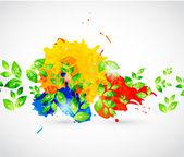 抽象的环境主题 — 图库矢量图片
