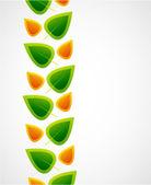 Leaf abstrakt bakgrund — Stockvektor