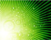 Vektor Natur glänzendem Hintergrund — Stockvektor