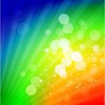 Vector rainbow shiny abstract background — Stock Vector #6288795