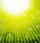 Grün glänzend vektor hintergrund — Stockvektor