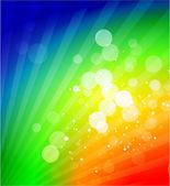 Vector rainbow shiny abstract background — Stock Vector