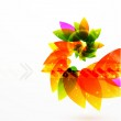 Vector abstract flower background — Stock Vector #6290057