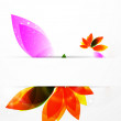 Vector abstract flower background — Stock Vector #6415947