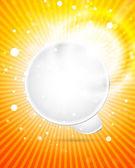 矢量白色气泡 — 图库矢量图片