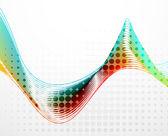 Resumo de forma suave de fundo vector — Vetorial Stock