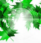 абстрактный зеленый концепция вектор — Cтоковый вектор