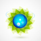 Nature sphere design — Stock Vector