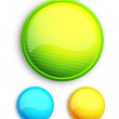 Royalty-Free Stock Vector Image: Abstract glass button