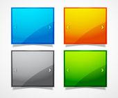 Bildschirm-website-templates — Stockvektor