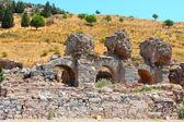 Ruins of the Roman baths — Stock Photo