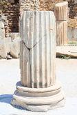 Fragment of an antique column — Stock Photo