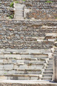 Steps of an antique amphitheater — Stock Photo