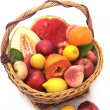 Basket of fruits — Stock fotografie #5575704