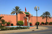 One of the Royal Palace gates in Marrakech, Morroco — Stock Photo