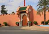 One of the Royal Palace gates in Marrakech — Stock fotografie