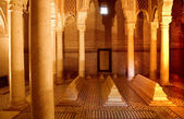 The Saadiens Tombs in Marrakech. Morocco. — Stock Photo