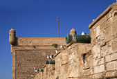 Ramparts in Essaouria, Morocco Africa — Stock Photo