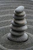 Písek a kameny — Stock fotografie