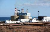 Desalination Plant in Lanzarote, Spain — Stock Photo