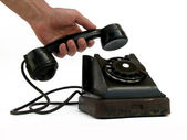 Dial telephone — Stock Photo