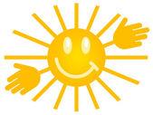 Symbol of the sun — Stock Photo