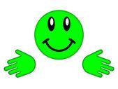 Smiley face — Stock Photo