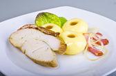 Silesian patates köfte — Stok fotoğraf