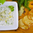 Stock Photo: Polish dill soup
