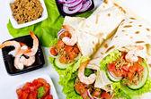 Tacos con chiuso — Foto Stock