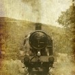 Stock Photo: Vintage effect steam engine