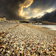 Stock Photo: Stormy llandudno